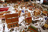 December 12, 2013.  Gingerbread village