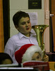 December 17, 2013.  Colton makes the All-city honor band